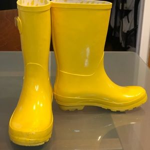 Wonder Nation Girl's Rain Boots - Size 2/3